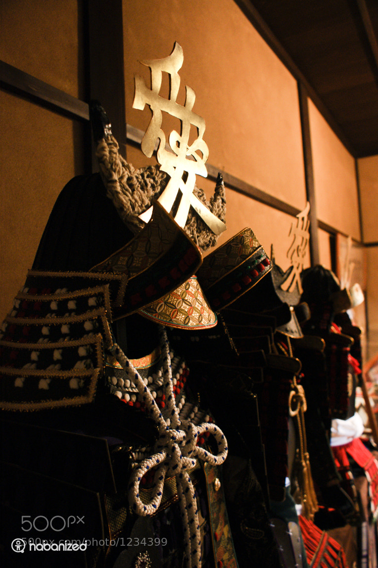 Photograph Samurai Battle Gear by Eugene W on 500px
