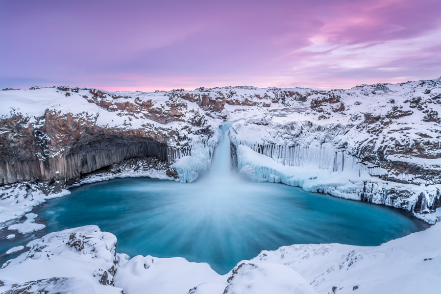 Aldeyjarfoss by Markus van Hauten on 500px.com