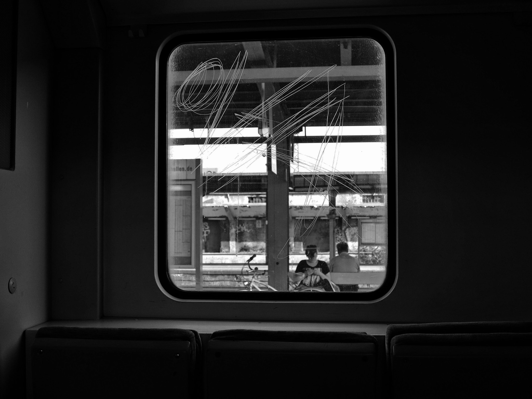 Photograph going by train by Georgie Pauwels on 500px