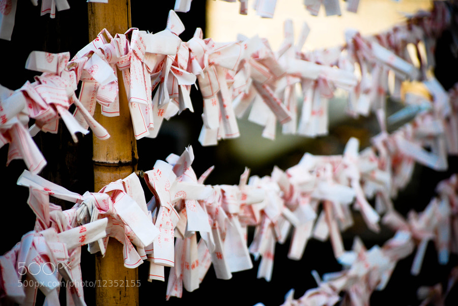 Omikuji by Xavi Serrano (Xavikun) on 500px.com