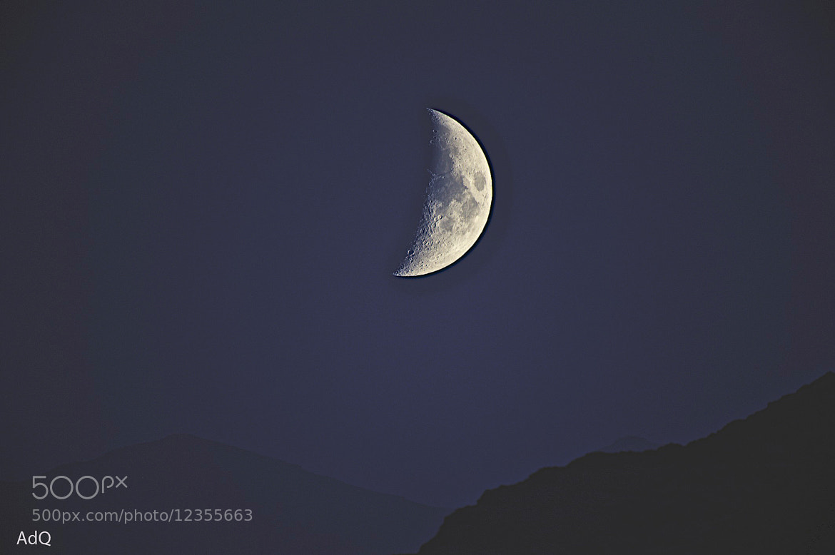Photograph Moon & Rocks by Abdalla Al Qasmi on 500px
