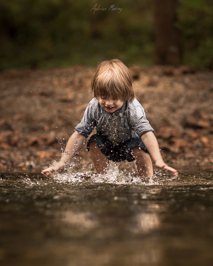 In the Creek by Adrian C. Murray on 500px.com