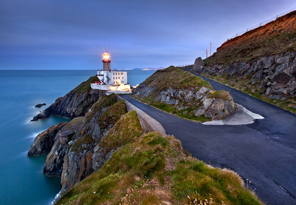 Photograph Road to Baily Lighthouse by Stephen Emerson on 500px