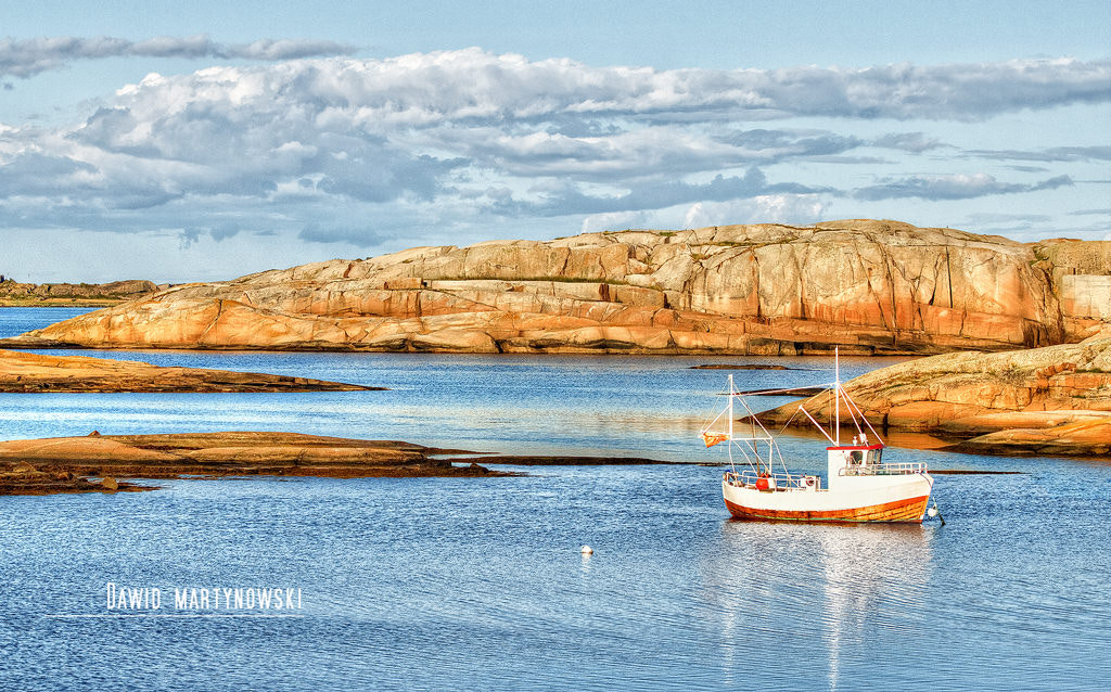 Photograph The End Of The Earth — in Verdens Ende, Tjøme. by Dawid Martynowski on 500px