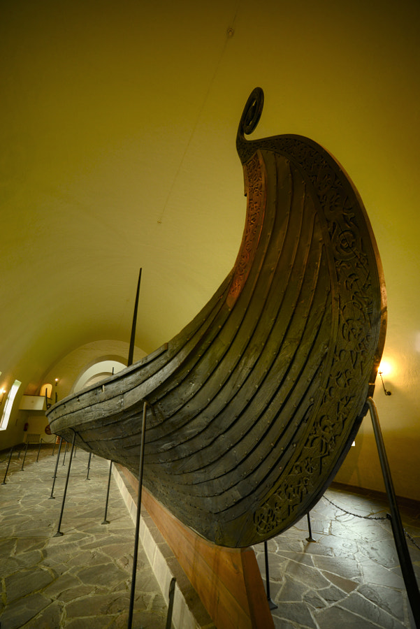 The Oseberg Ship by Özgün Özdemir on 500px.com