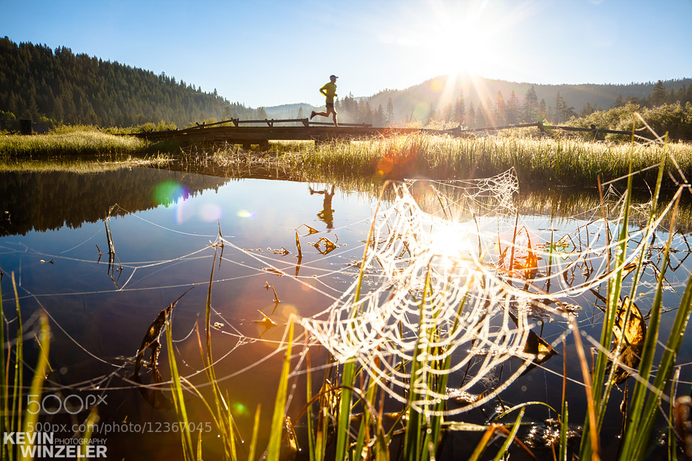 Photograph Trail Running - Sunrise by KevinWinzeler.com  ~ sports, lifestyle on 500px