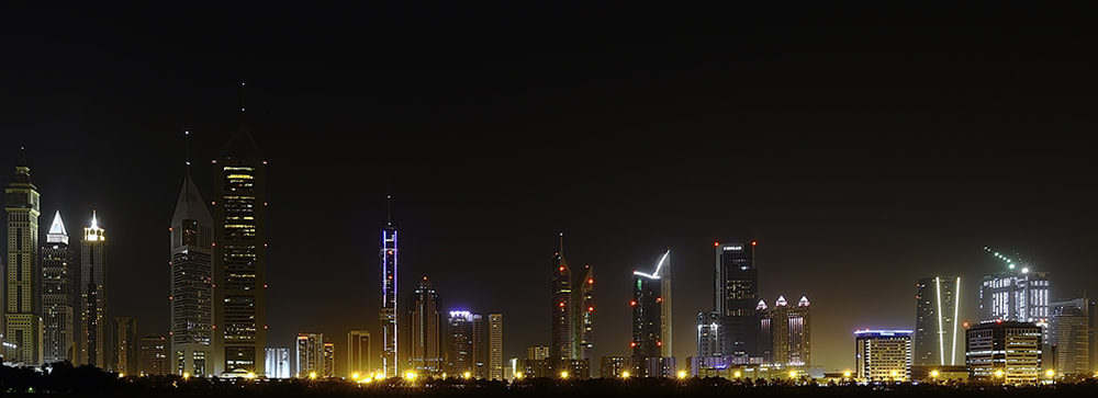 Photograph Dubai - Shaikh zayed road by Omar Al-Askar on 500px