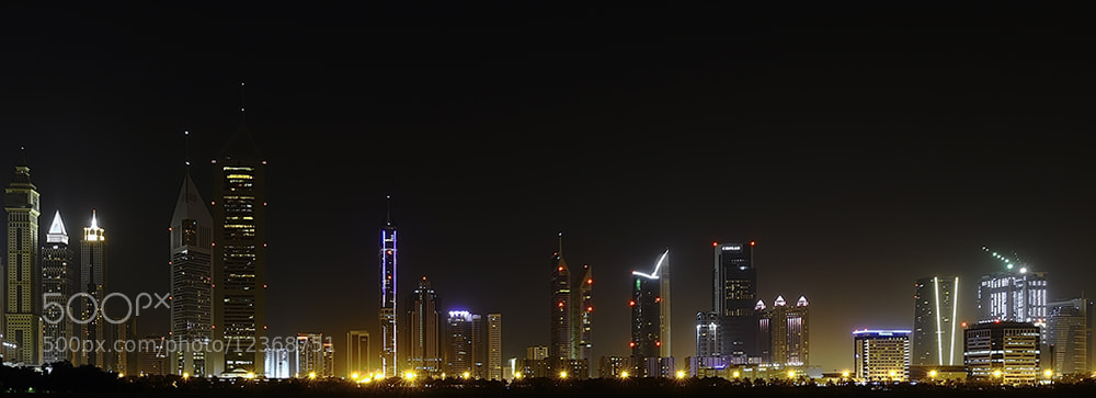Photograph Dubai - Shaikh zayed road by Omar Al-Askar on 500px