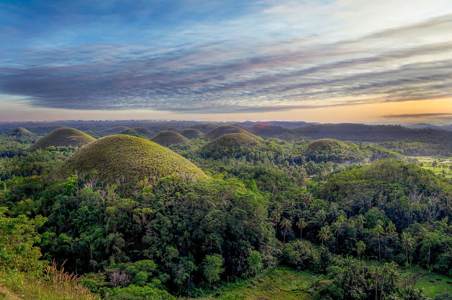 Chocolate Hills of Philippines by Alladin Darryl Ramos on 500px.com