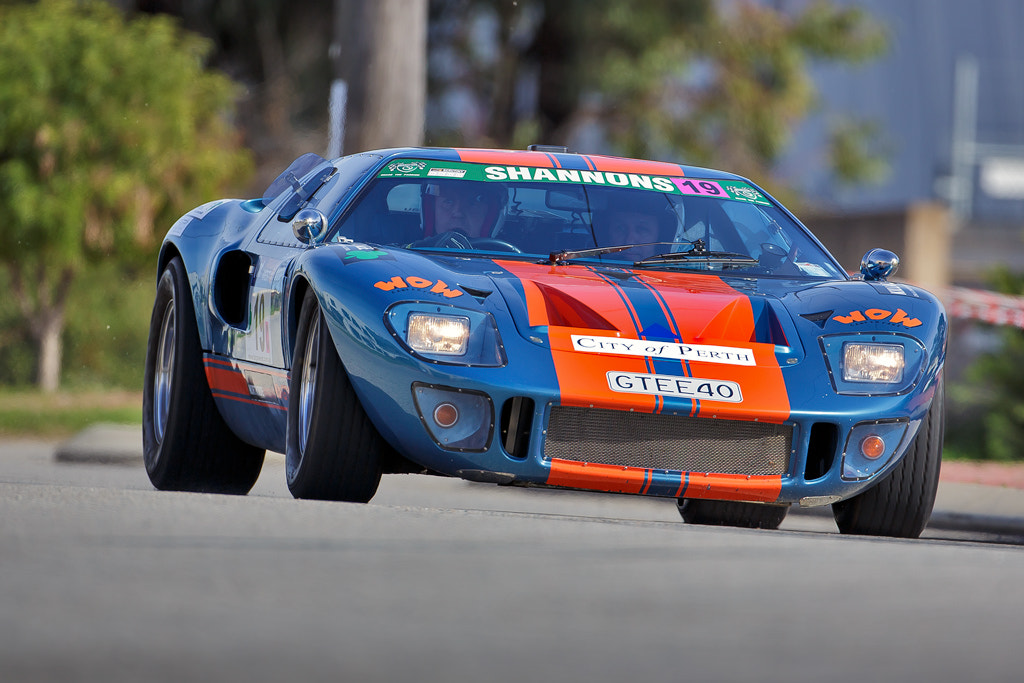 Photograph Targa West Ford GT40 by Andrew Tingle on 500px