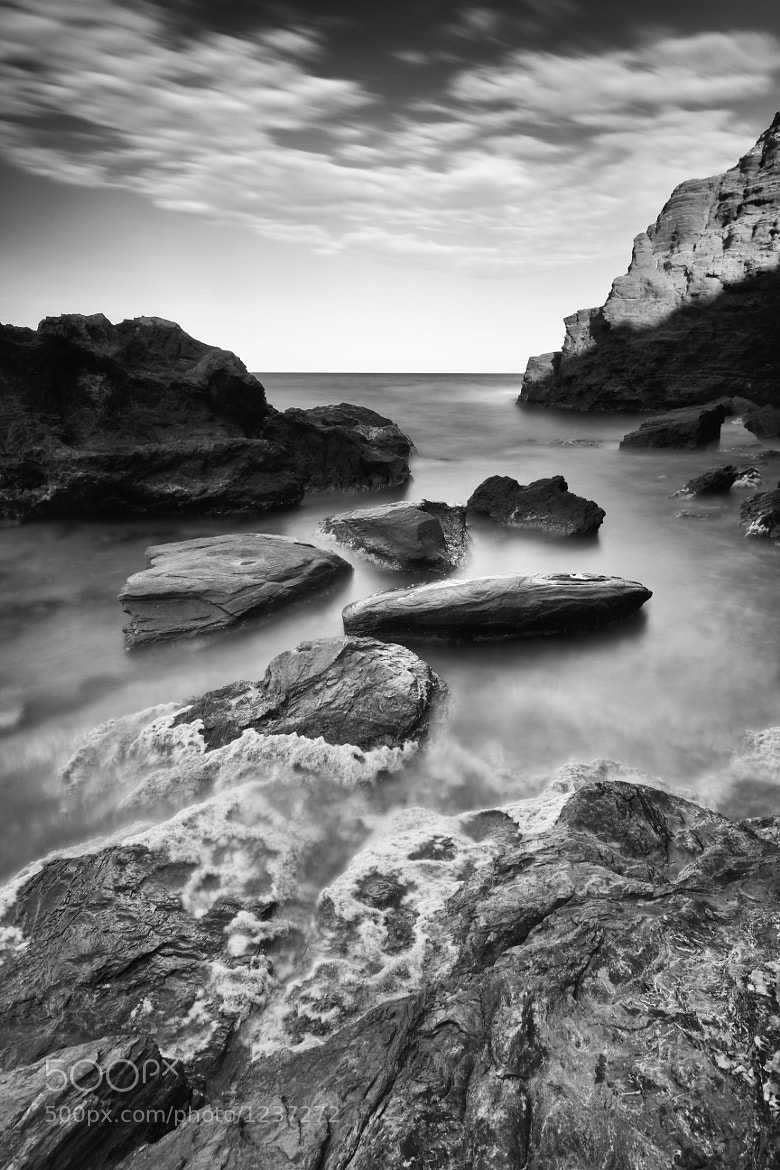 Photograph black rocks by Tomas Peñalver on 500px