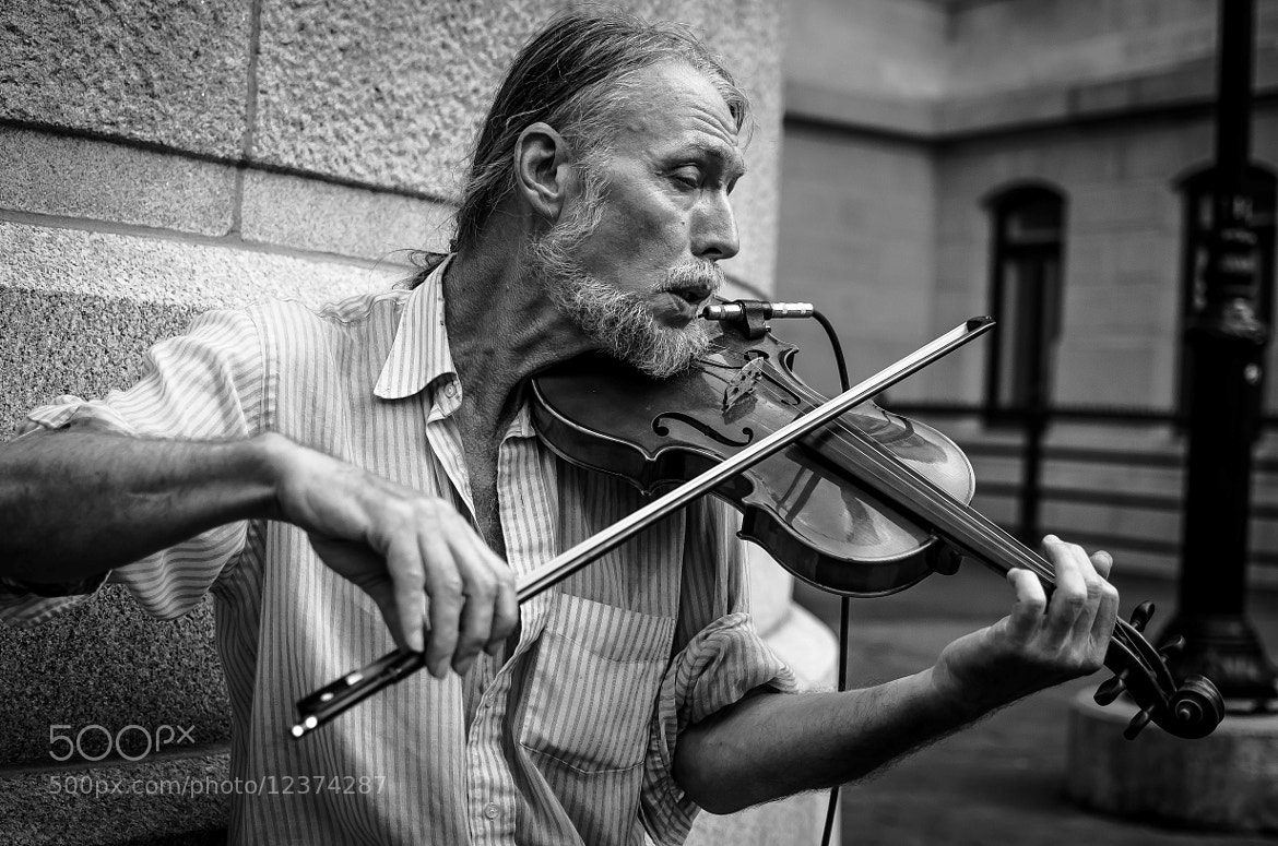 Photograph Violinist  by Eric Tankel on 500px
