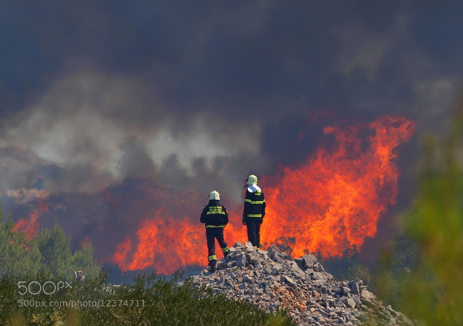 Photograph FIRE by Mirna Vidić on 500px