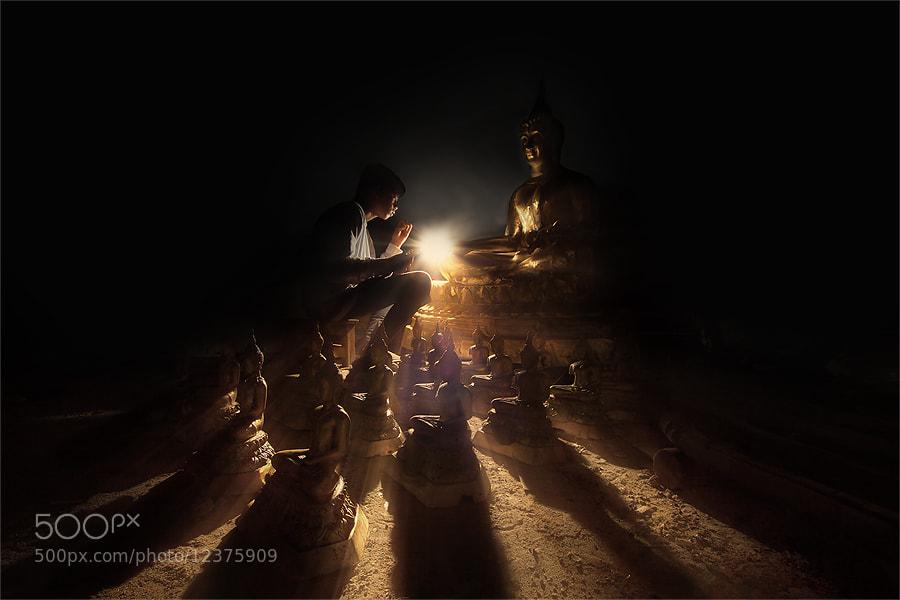 Photograph light of buddha by jeerasak Chaisongmuang on 500px