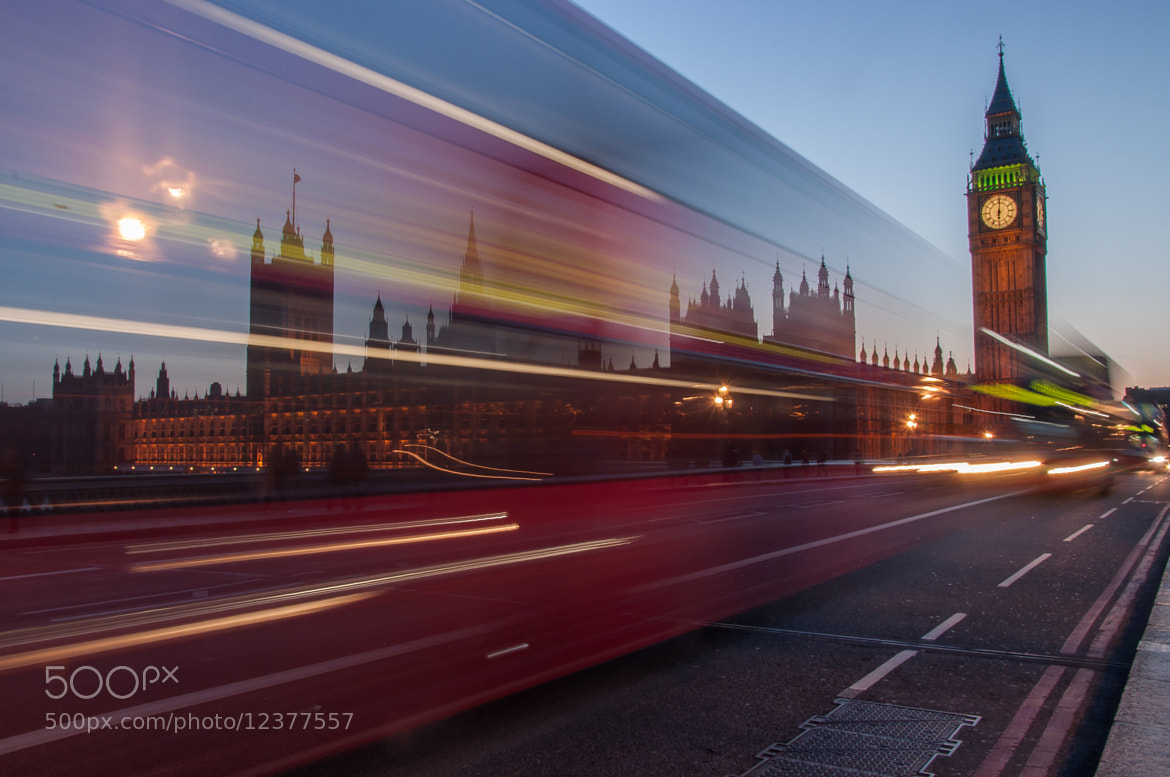 Photograph Big Ben & The Traffic by Vaibhav Dubey on 500px
