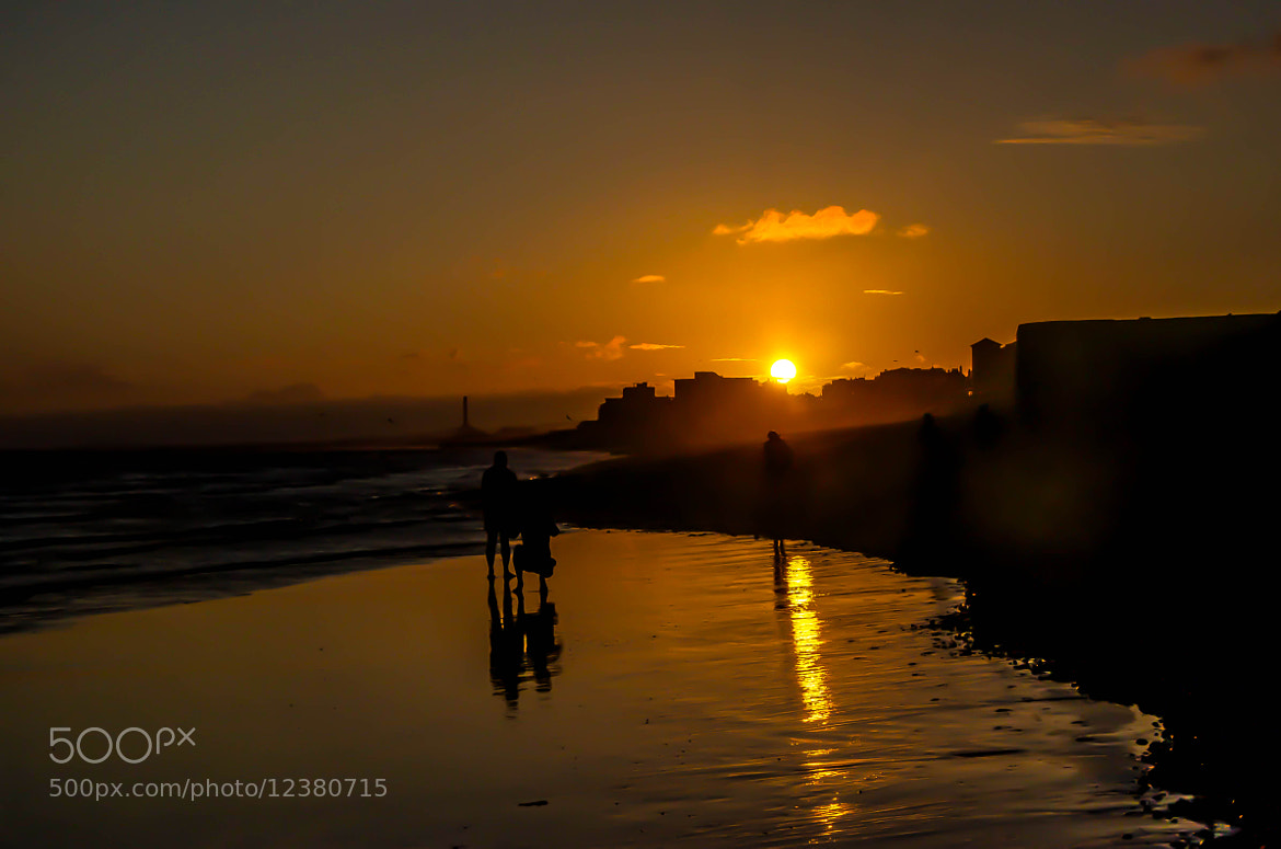 Photograph Golden Sunset,, brighton Beach by julian john on 500px