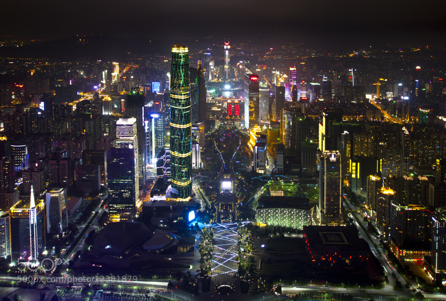 Photograph Guangzhou night view by Fedor Ivanenko on 500px