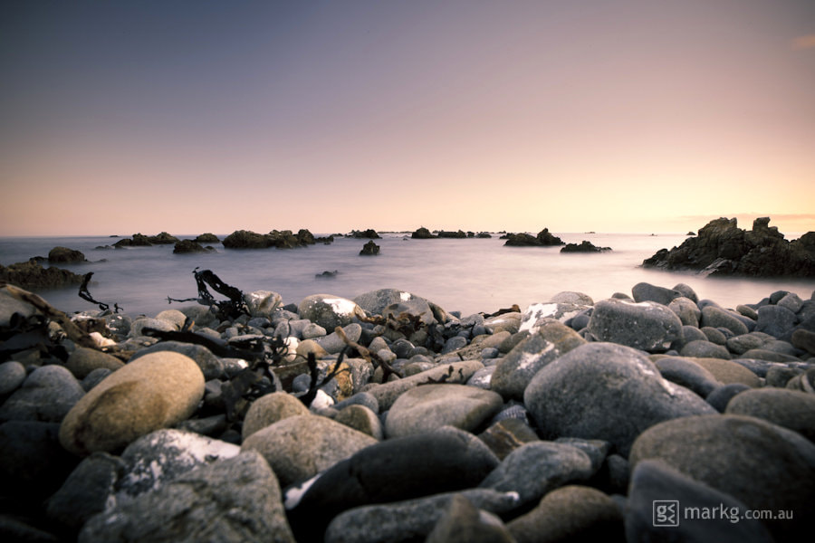 Photograph Rock Hopping at Sunset by Mark Gee on 500px