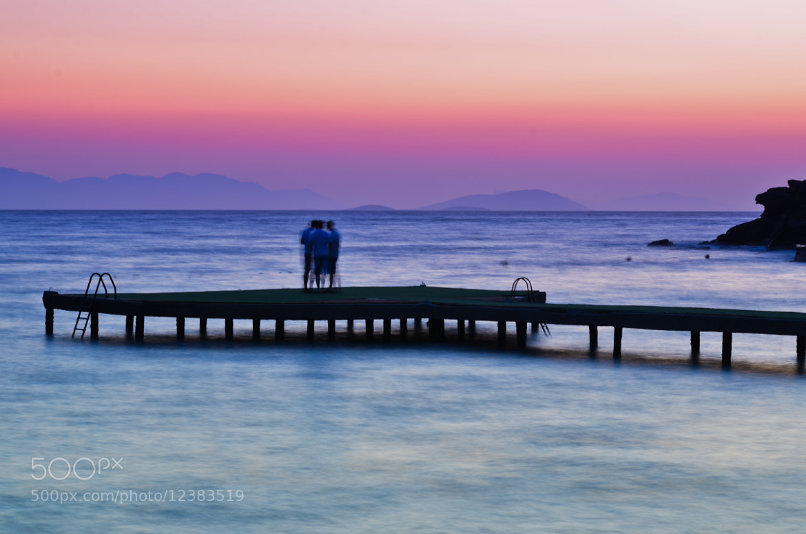 Photograph Talking at sunset / Bodrum by Dx VxN on 500px