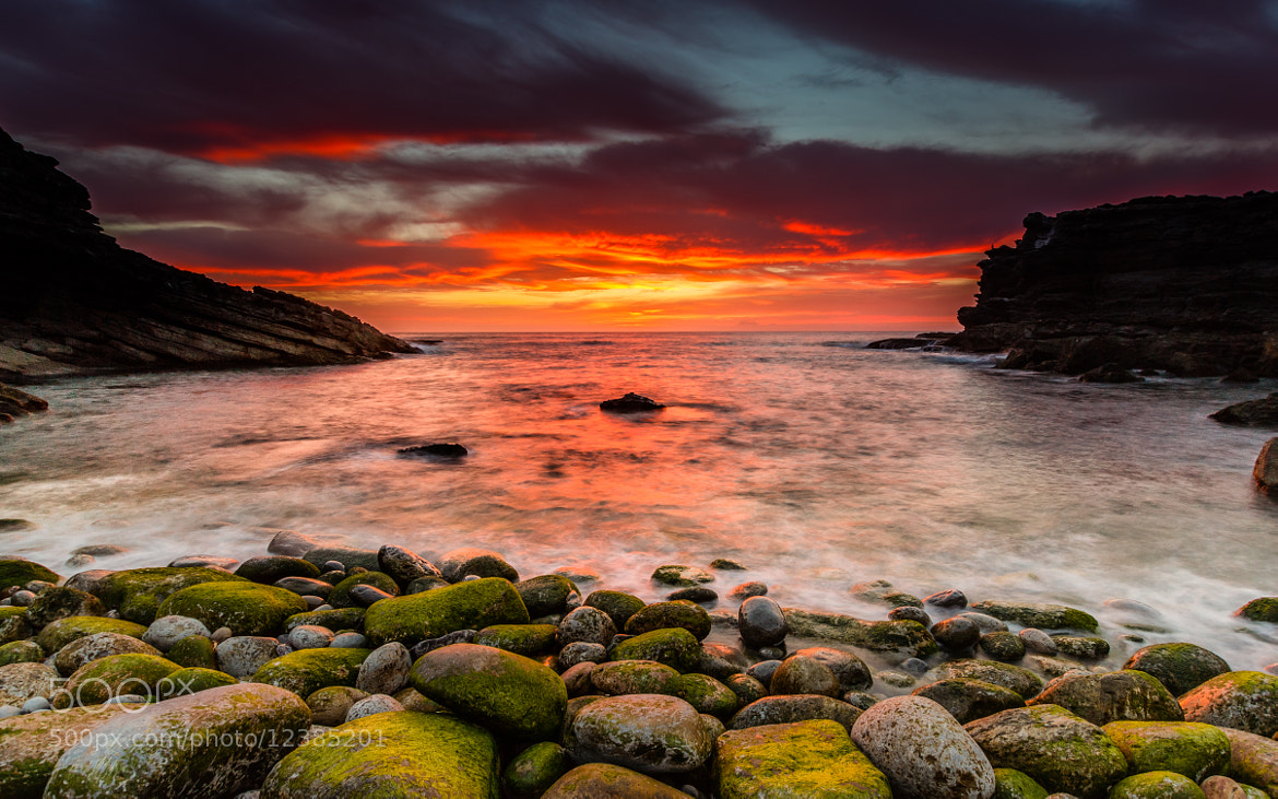 Photograph Rolling Stones sunset by Jose Barbosa on 500px