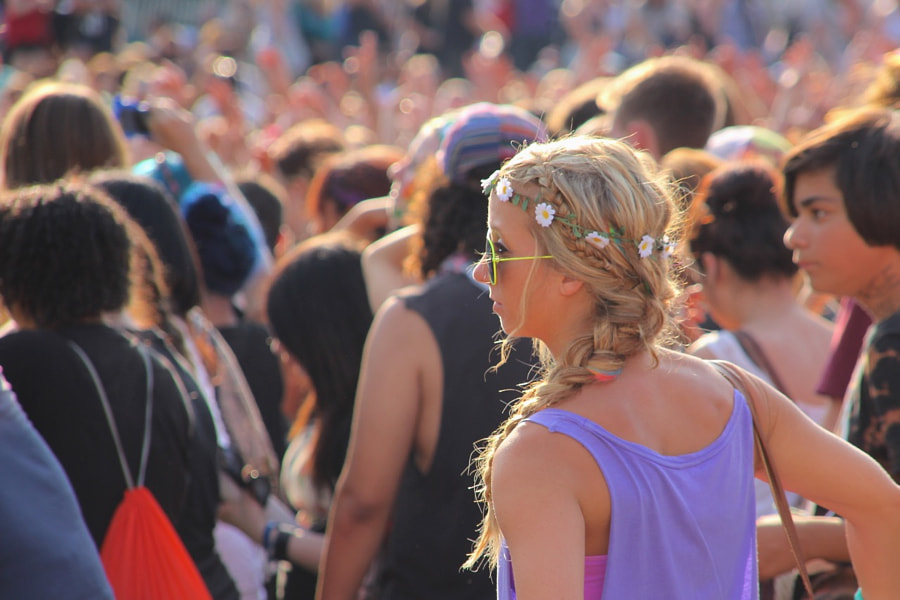 Photograph Concert Crowds by siobhonvdm on 500px