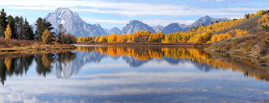Grand Teton Autumn Reflections by Eric Anderson on 500px.com