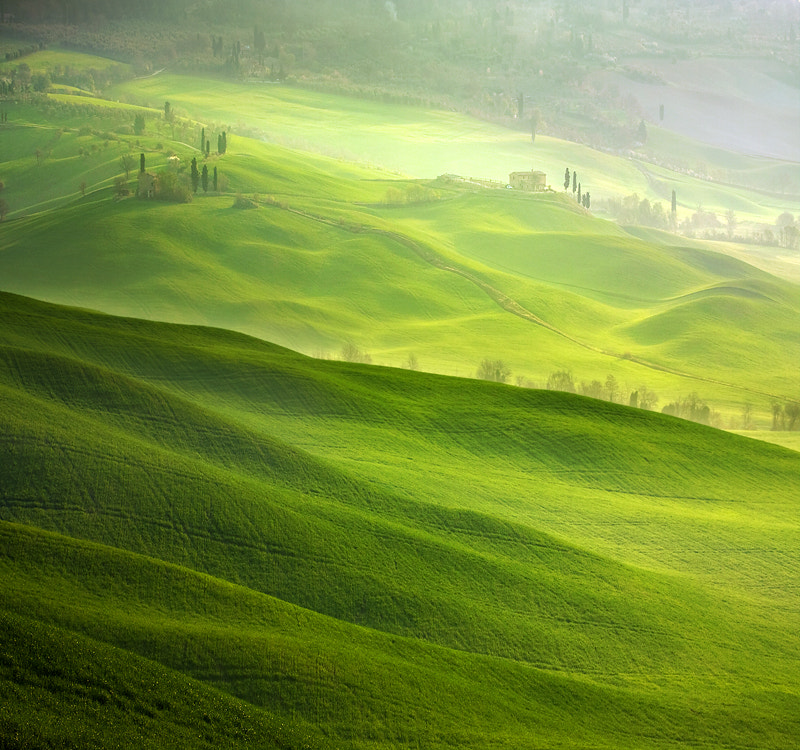 Photograph Hills of Pienza by Marcin Sobas on 500px