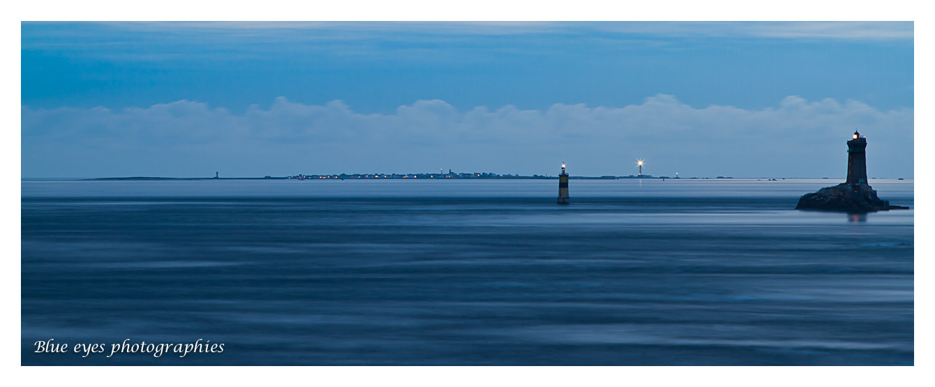 Photograph La Vieille lighthouse and ile de Sein island - Brittany - France by Ronan Follic on 500px