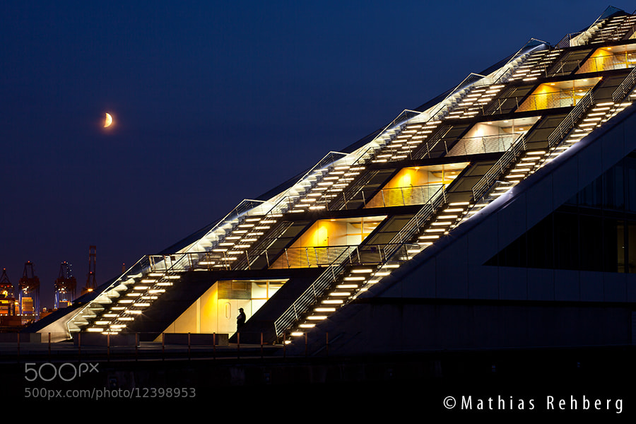 Photograph Dockland @ night by Mathias Rehberg on 500px
