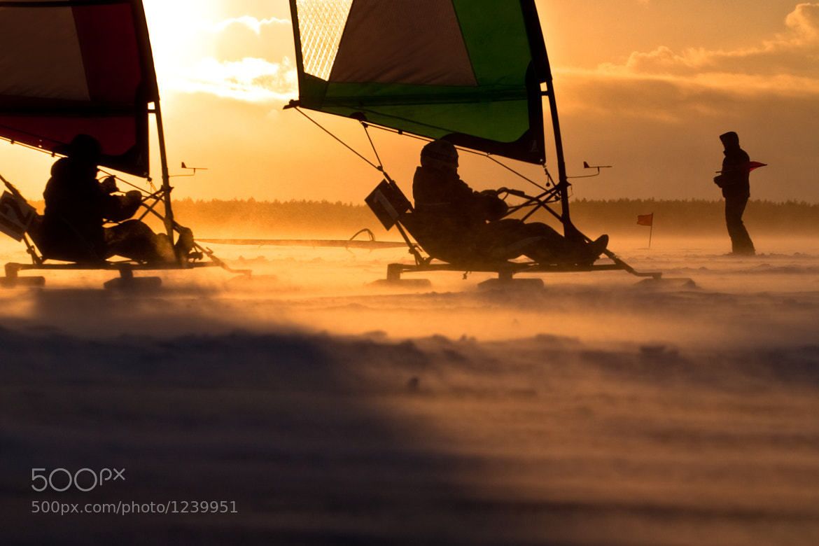 Photograph Ice-sailing regatta by Andrius Repsys on 500px