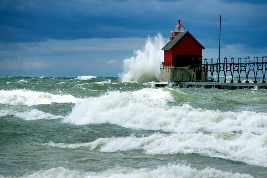 Lake Michigan's Fury