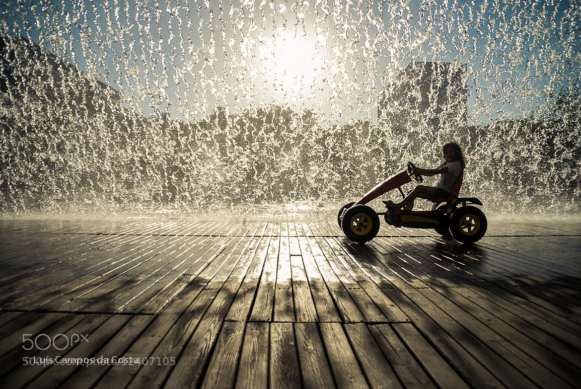 Photograph Water courtain by Luís Costa on 500px