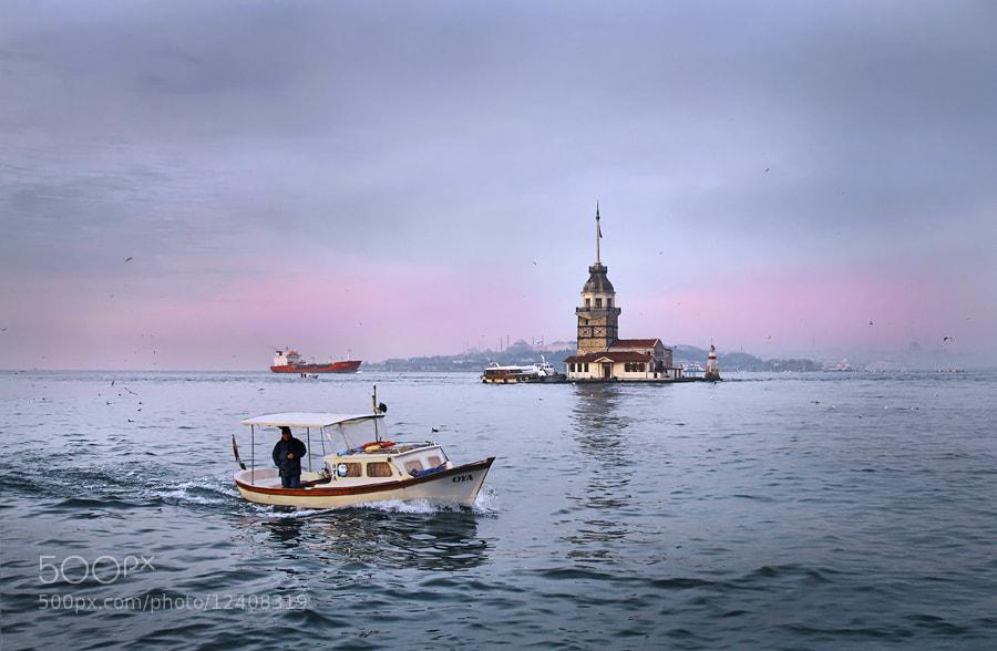 Photograph Maiden Tower by Timucin Toprak on 500px