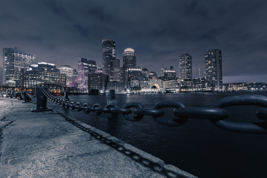 Boston Glow by Marcel Lesch on 500px.com