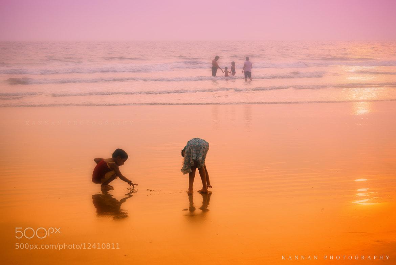 Photograph Beautiful childhood beach memories by Kannan Gopalakrishnan on 500px