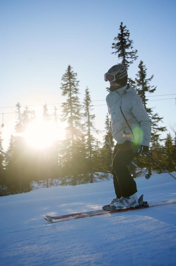 Skiing in Trysil