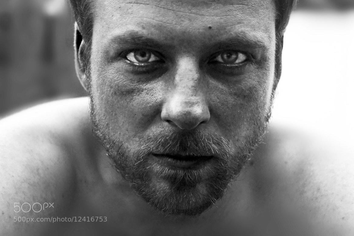 Photograph Portrait B&W by Silvia Sanchez De Freitas on 500px