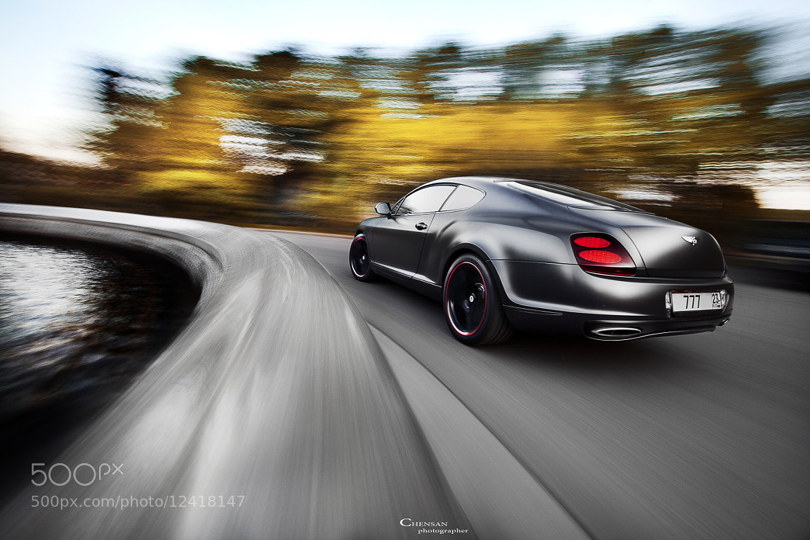 Photograph Bentley continental GT Supersports . by Chensan  by  Chensan on 500px