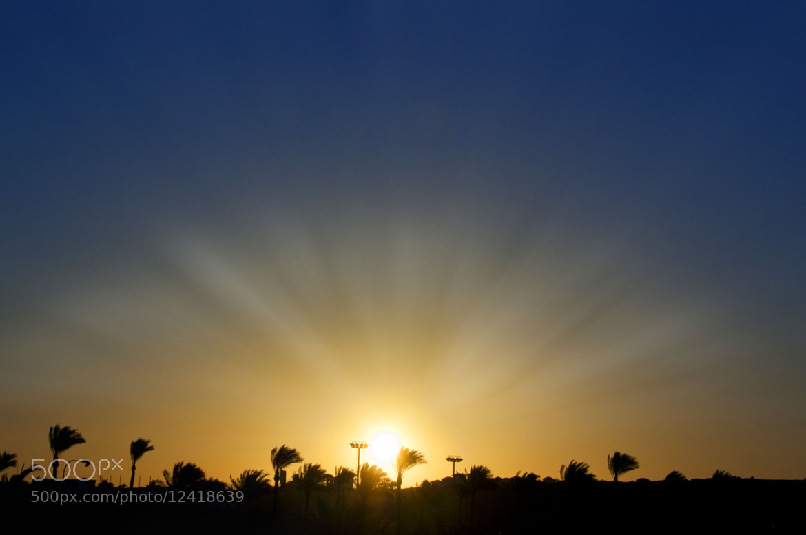 Photograph Sun Beam's Over Sharm by Jamie  Hyde on 500px