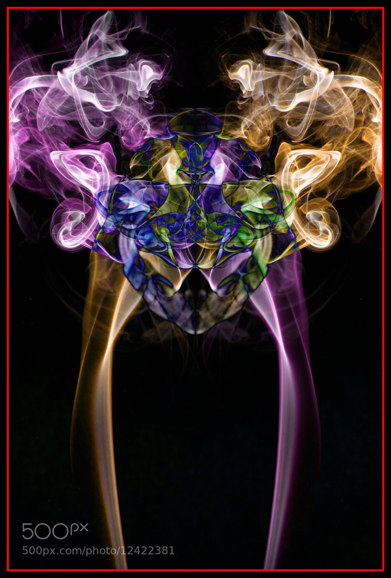 Photograph Colour Smoke by Jamie Hyde on 500px