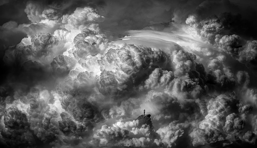 Surrounded black and white by Like_He on 500px.com