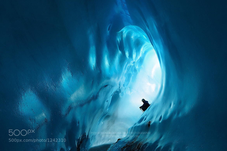 Photograph Ice cave by Pete Wongkongkathep on 500px
