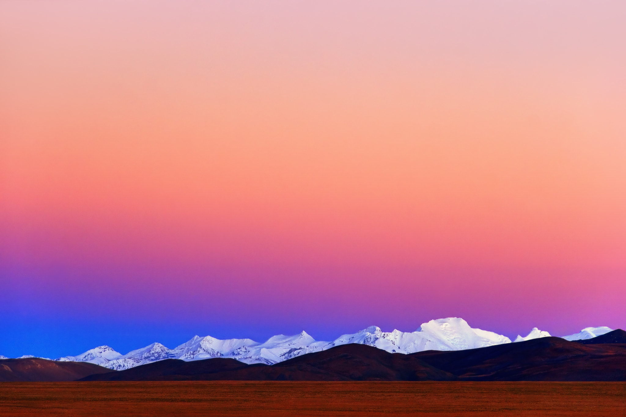 Photograph View of the Himalayas from Tibet by Birukov Yury on 500px
