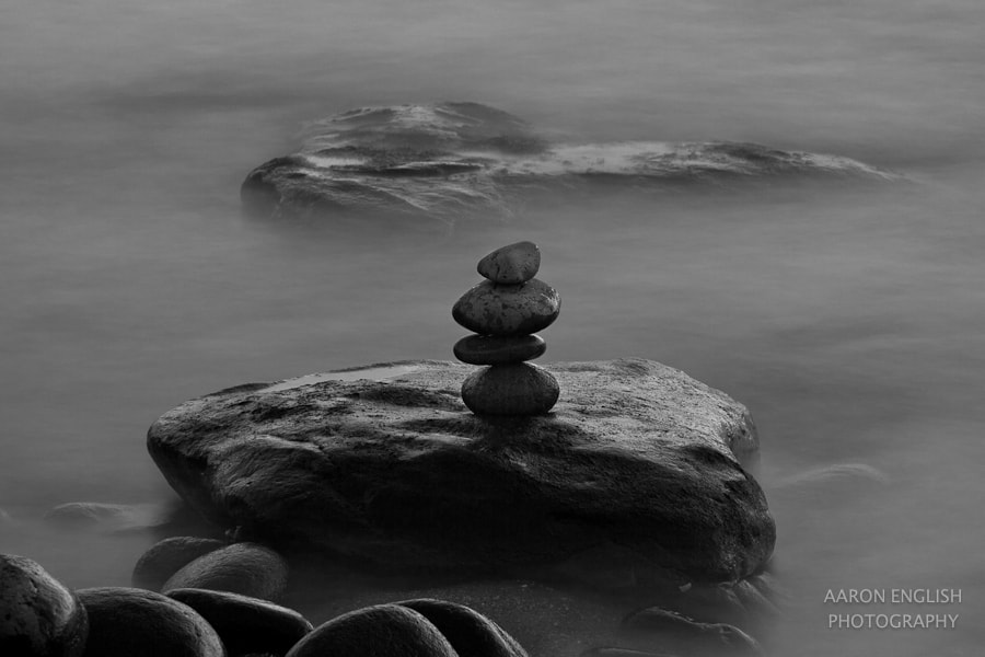 Photograph Stacked Rocks by Aaron English on 500px