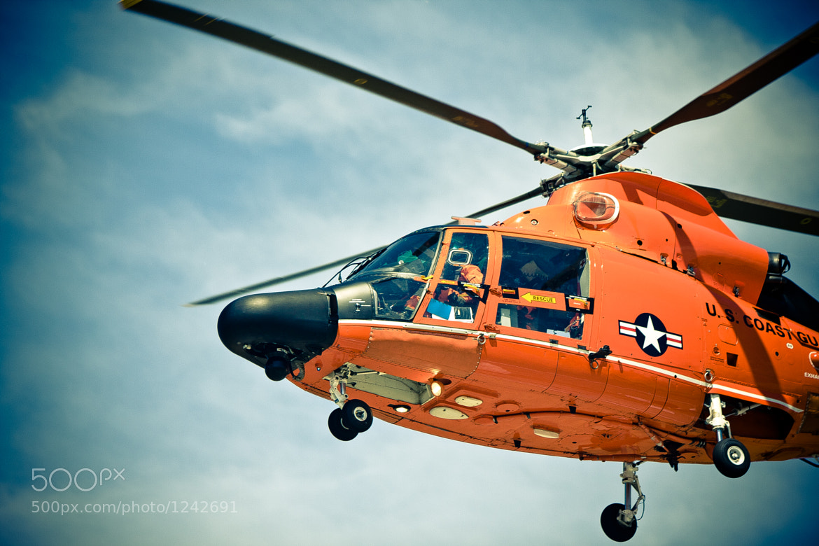 Photograph Coast Guard Helicopter by Ryan Turner on 500px
