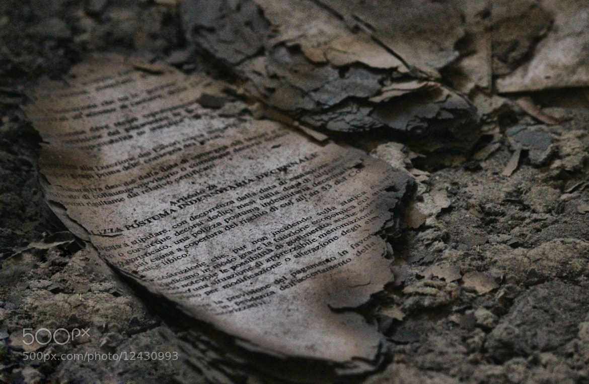 Photograph Old and Burned by Mohamed Benwali on 500px