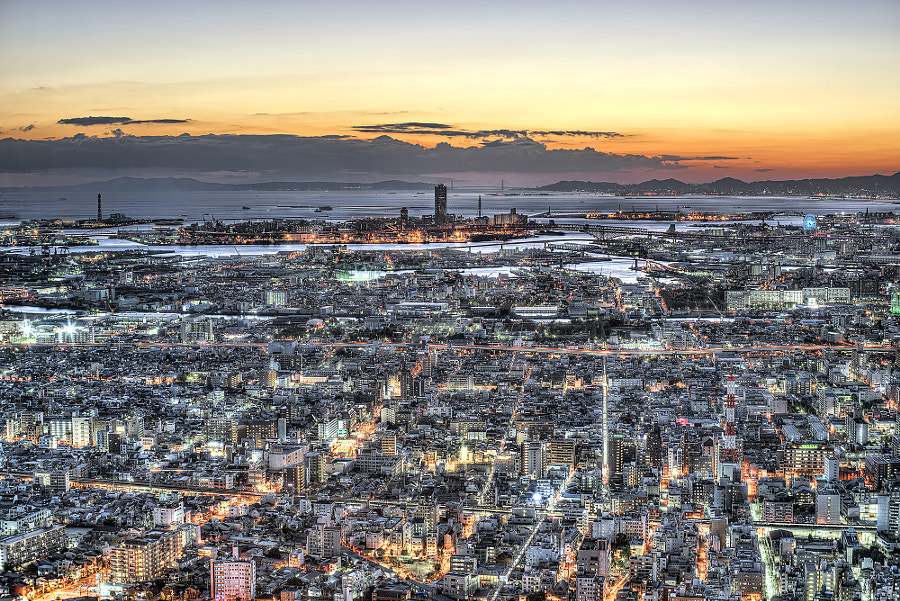 Gotham in Twilight by Azul Obscura on 500px.com