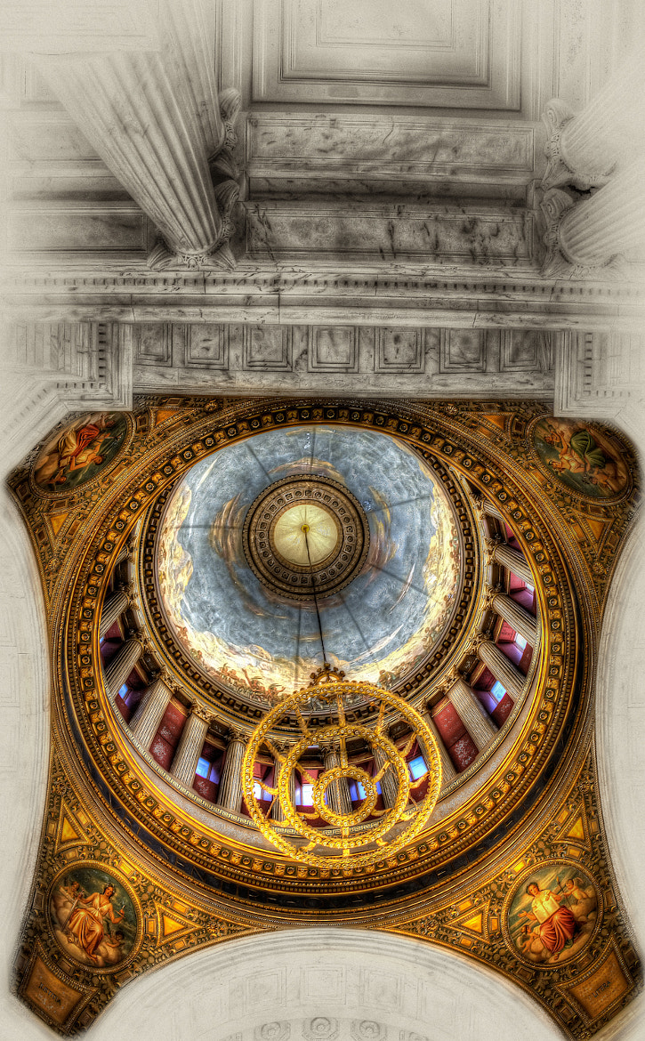 Photograph The  B&W Ceiling by Ian McConnell on 500px