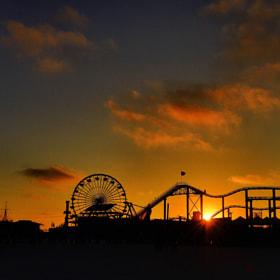 Santa Monica Pier - August 24, 2012 por Rich Cruse (cruse) on 500px.com