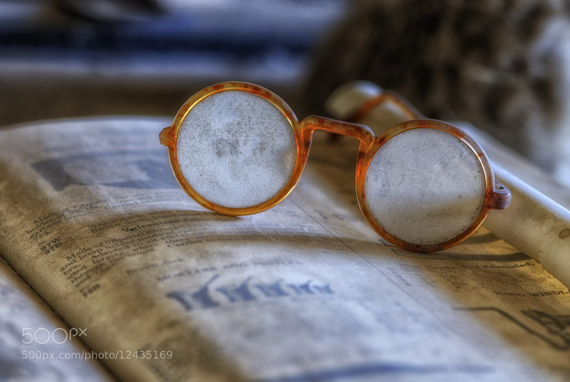 Photograph Forgotten Glasses by Richard  Small on 500px